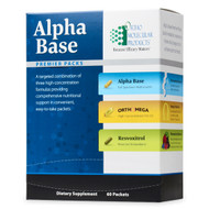 Alpha Base Premier Packs 30 packets by Ortho Molecular