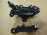 FRONT BRAKE CALIPER WITH MOUNT FOR K-9 250