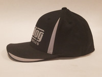 Big Dog Motorcycles Flex Fit Hat - Black - (L/XL)