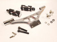 Big Dog Ridgeback Passenger Peg Bracket Kit (w/ Pegs) - Chrome