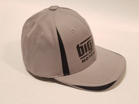 Big Dog Motorcycles Flex Fit Hat - Gray - (S/M)