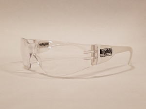 Big Dog Motorcycles Riding Glasses - Clear (Small)