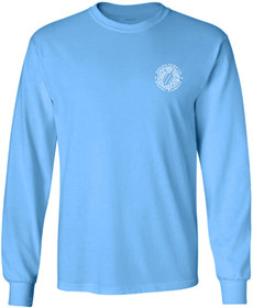 Aquatic Blue / White logo