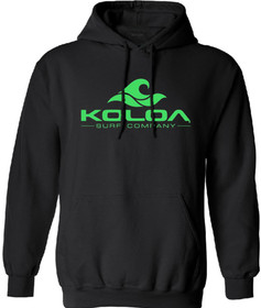 Koloa Surf Wave Logo Hoodies - Hooded Sweatshirts. In Sizes S-5XL