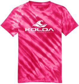 Pink / White logo