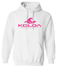 White with Pink logo