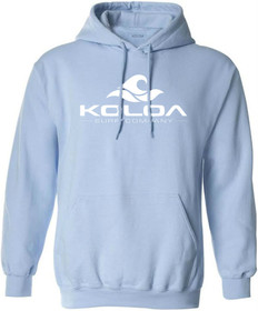 Light Blue with White logo