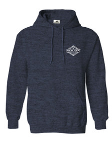 Heather Navy / White logo