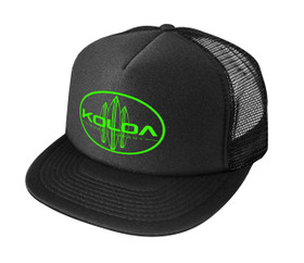Black with Green logo