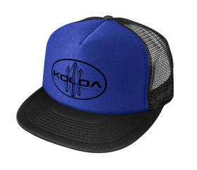 Royal Blue with Black logo