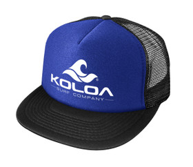 Royal Blue with White logo
