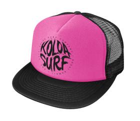 Neon Pink / Black logo