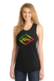 Black / Rasta logo