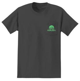 Charcoal / Green logo
