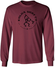 Athletic Maroon / Black logo