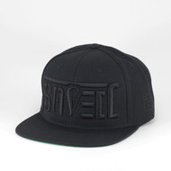SAVED Ambigram Snapback (black-black) Eclipse