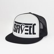 SAVED Snapback Trucker (White/ Black)