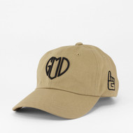 GOD IS LOVE Dad Hat - Khaki
