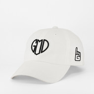 GOD IS LOVE Dad Hat - White