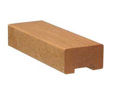 2-3/4 inch x 1-5/8 inch Square Handrail w / Plow