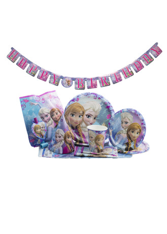 8 Disney Frozen 8 5/8  Dinner Plates Birthday Party Supplies Paper Goods - 1 Super Party  sc 1 st  1 Super Party & 8 Disney Frozen 8 5/8