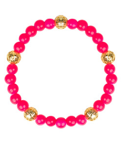 Riley Bracelet - Miss Pink & Gold