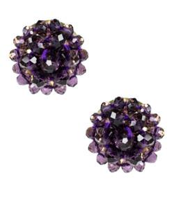 Button - Czech Grape
