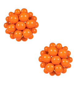 Button - Orange
