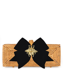 Colette Tan - Black Bow & Bee - TEMPORARILY SOLD OUT