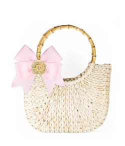 Half Moon Bag - Small - Powder Pink - Blossom