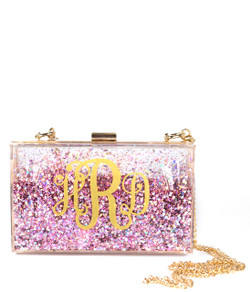 Sparkle Bag - Pink & Gold