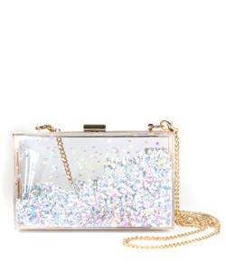Sparkle Bag - Silver Stars - Plain