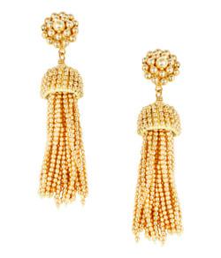 Tassel Earrings - Gold - Pre-sale