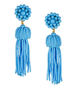 Tassel Earrings - Turquoise - Pre-sale