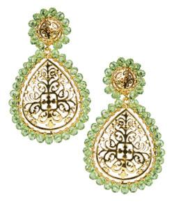 Ava - Gold & Green