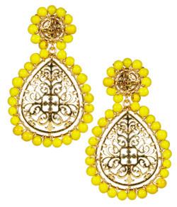 Ava - Gold & Yellow