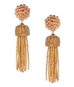 Tassel Earring - Champagne
