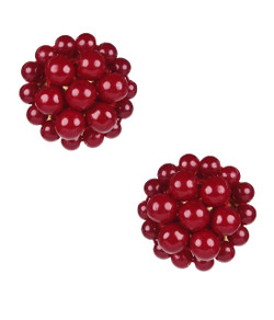 Button - Burgundy - Pre - Sale
