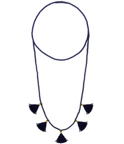Lola Necklace - Navy