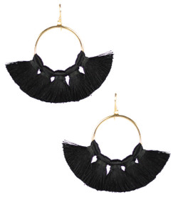Izzy Gameday Earrings - Black