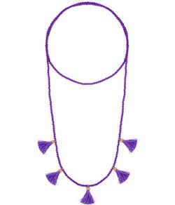 Lola Necklace - Purple