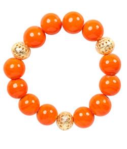 Beaded Bracelet - Orange