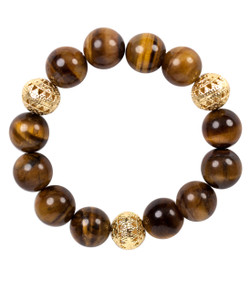 Beaded Bracelet - Tiger's Eye