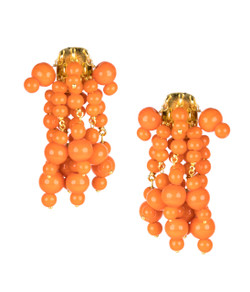 Firecracker Earrings - Orange