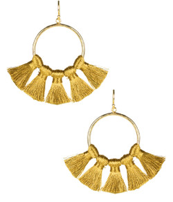 Izzy Gameday Earrings - Gold