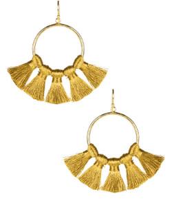 Izzy Gameday Earrings - Gold