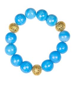 Beaded Bracelet - Turquoise
