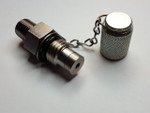 "Oil Sampling Valve - 1/4"" male NPT sampling port"