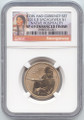 2014-D Sacagawea Enhanced Uncirculated from Coin and Currency Set TA9, SP-69 NGC