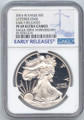 2016-W Proof American Silver Eagle, NGC PF-69 Ultra Cameo, Early Release Label
